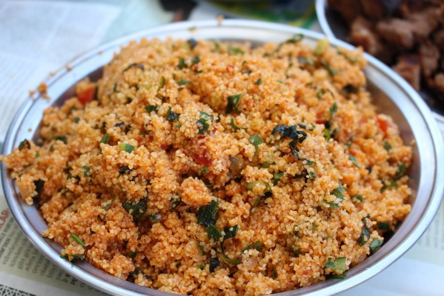 Bulgur e couscous